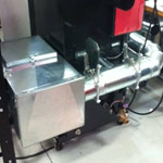 Custom Duct Work on a Commercial Deburring Bench System