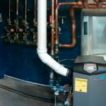 Lochinvar Knight KBN 285 dual boilers for commercial use w/ B&G high efficiency pumps