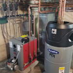 Pure Pro Trio oil fired boiler multi zone w/ indirect tank