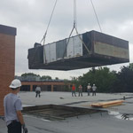 2017 - Removal of old equipment at Farmington Middle School