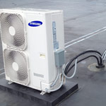 Two 3 ton Samsung ductless splits